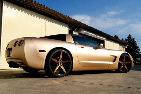 Corvette c5 custom hammar design.